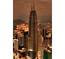 Kuala Lumpar Tilt Shift Photographic Print