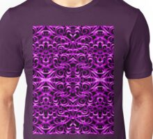 Floral Wrought Iron Unisex T-Shirt