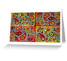 Playing Card Designs By Jonathan Green Greeting Card