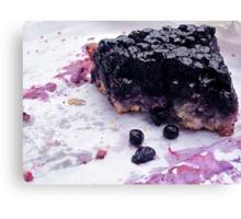 Blueberry Best Canvas Print