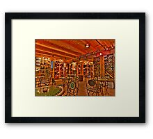 Sorrenti Winery Framed Print