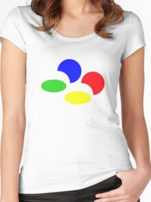 Super Famicon Women's Fitted Scoop T-Shirt