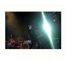 Chris Corner - IAMX - Live in Lvov Art Print