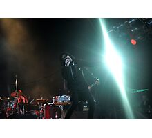 Chris Corner - IAMX - Live in Lvov Photographic Print