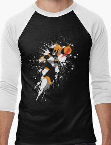 Bass/Forte Splattery Explosion Men's Baseball ¾ T-Shirt