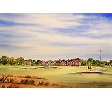 Royal Lytham And St Annes 18Th Hole Photographic Print