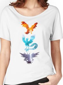 The legendary trio (birds) Women's Relaxed Fit T-Shirt