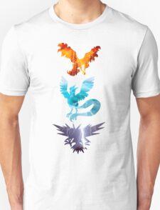The legendary trio (birds) Unisex T-Shirt