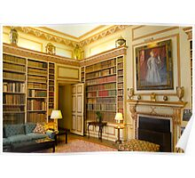 The Library Leeds Castle Poster