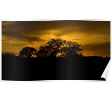 Scenic sunset! Poster
