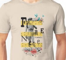 Collage italian Florence spirit Unisex T-Shirt