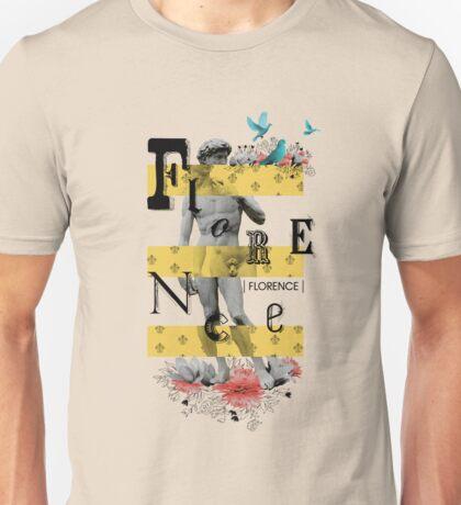 Collage italian Florence spirit Unisex T-Shirt