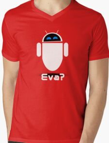 Evadroid Mens V-Neck T-Shirt