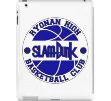Ryonan High Basketball Club Logo iPad Case/Skin