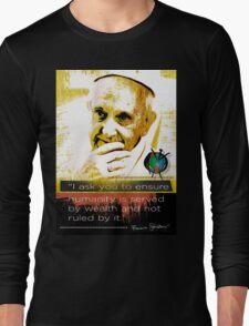pope francis Long Sleeve T-Shirt