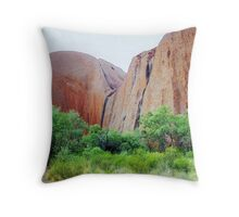 Outback Red Throw Pillow