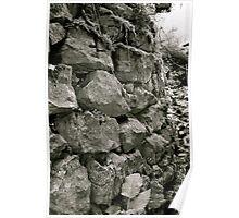 Lakeland Stone Wall Poster