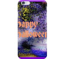 Happy Halloween Gimp Art Pumpkins iPhone Case/Skin