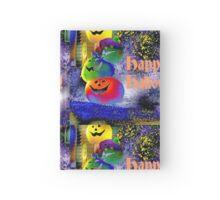 Happy Halloween Gimp Art Pumpkins Hardcover Journal