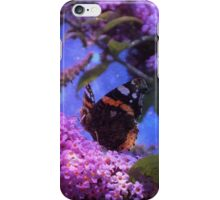 Fantasy Red Admiral Butterfly iPhone Case/Skin