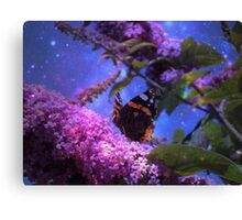 Fantasy Red Admiral Butterfly Canvas Print