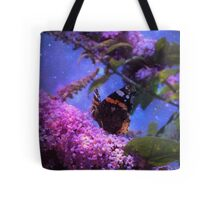 Fantasy Red Admiral Butterfly Tote Bag