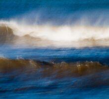 Wind Swept Ocean by Su Walker