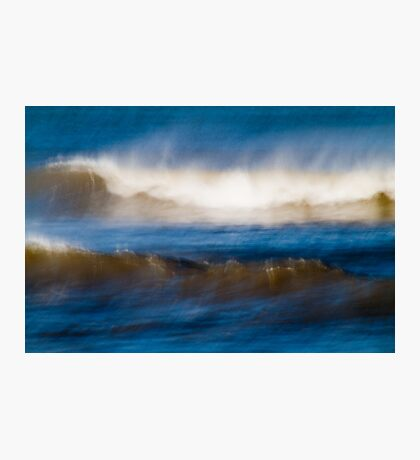 Wind Swept Ocean Photographic Print