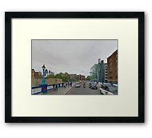 LONDON_View 011 Framed Print