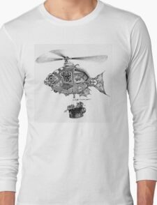 Weebits Flying Fish Excursion Long Sleeve T-Shirt