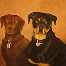 Coco &amp; Tyson by Alexander Beedy