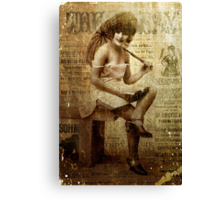 The Ray Canvas Print