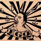 EGO vs. EGO #2 by Ladystroy Art
