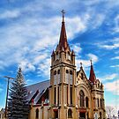 Christmas Church by rocamiadesign