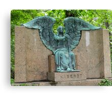 The Haserot 'Weeping Angel' Canvas Print