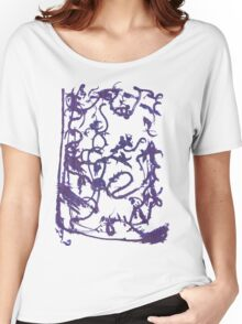 Mysterious ink spill Women's Relaxed Fit T-Shirt
