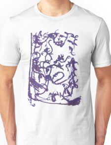 Mysterious ink spill Unisex T-Shirt