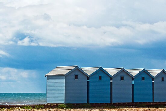 Shelter From The Storm ~ Charmouth by Susie Peek