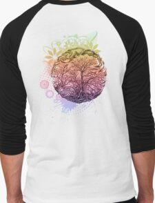Brunches of trees Men's Baseball ¾ T-Shirt