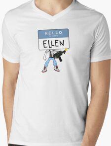 HELLO my name is ELLEN Mens V-Neck T-Shirt