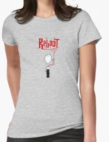reboot Womens Fitted T-Shirt