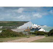 Seven Sisters: White Cliffs on the South Coast. Photographic Print