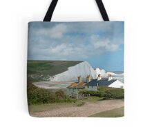 Seven Sisters: White Cliffs on the South Coast. Tote Bag