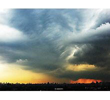 Stormy Afternoon  Photographic Print