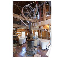Inside the Grist Mill Poster