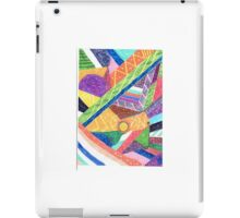 Abstract colours what iPad Case/Skin