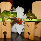 Friendly Froggies. by Cathie Trimble