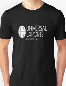 Universal Exports James Bond 007 dark background T-Shirt