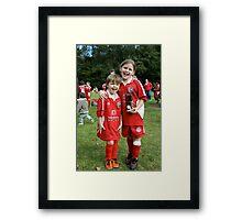 Trophy winners Framed Print