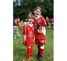 Trophy winners Photographic Print